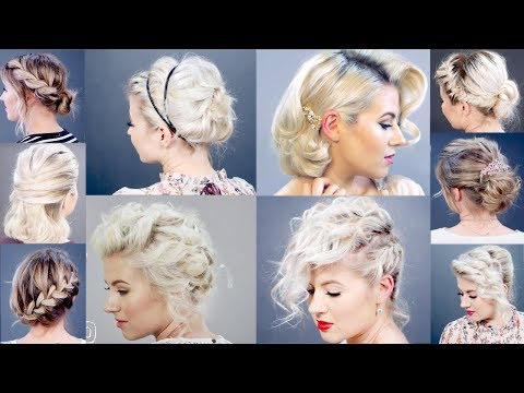 10 BEST ELEGANT SHORT HAIRSTYLES | Milabu