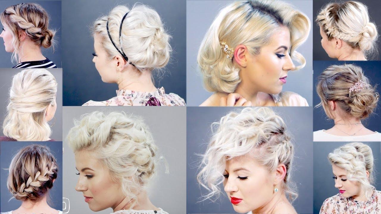 10 best elegant short hairstyles | milabu