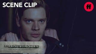 Shadowhunters | Season 2, Episode 20: Jace Saves Clary's Life | Freeform