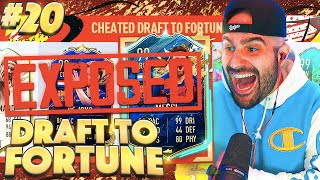 RIP! I CHEATED, IM SORRY!!! *EXPOSED* FIFA 20 Ultimate Team Fut Draft