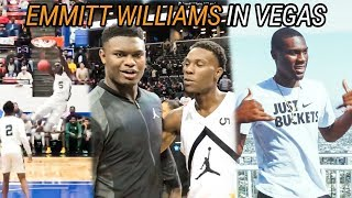 Emmitt Williams On How JAM FAM Started! We Talk LaVar Ball, Family & His Fear Of HEIGHTS 😱