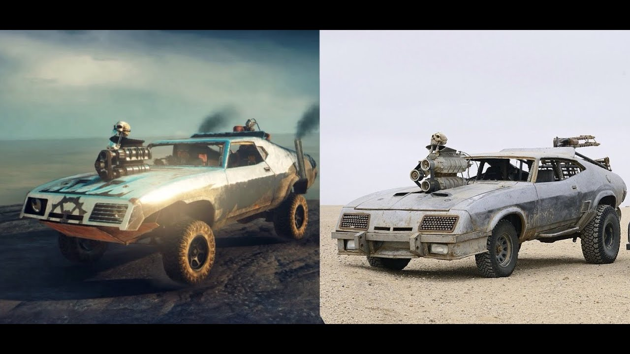mad max ps4 how to make the razor cola car from fury road youtube. Black Bedroom Furniture Sets. Home Design Ideas