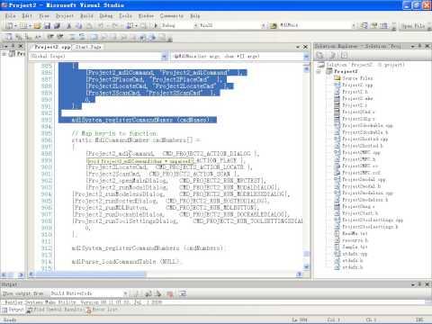 MicroStation MDL Programing