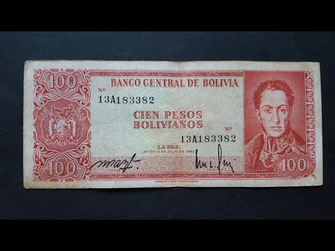 Bolivia's good serial numbers