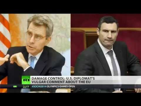 VICTORIA'NULAND & GEOFFERY'PYATT PHONE LEAK ABOUT WHO BE UKRAINE PUPPET - RT (RUSSIA TODAY) \ 2