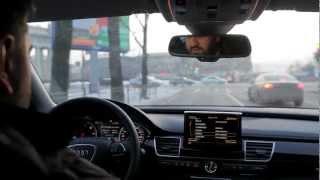 Поездка на Audi A8. Test Drive