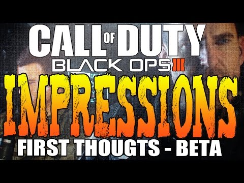 Black Ops 3 Beta, Thunder's First Impressions