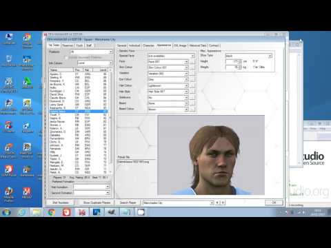 [PC] |FIFA MANAGER 14| How To Edit Player Picture