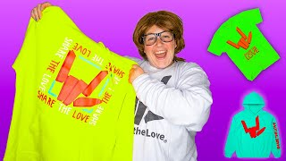 I BOUGHT THE ENTIRE SHARE THE LOVE MERCH STORE!! (Sorry Stephen Sharer)