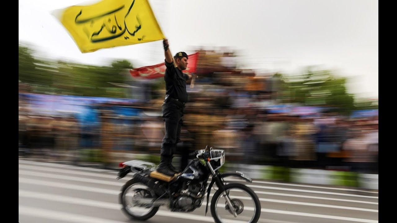 های شهر شیراز موتورسواری غیرعادی یگان ویژه ناجا- Iranian police biking ...