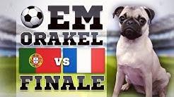 FINALE PORTUGAL gegen FRANKREICH » FUSSBALL ORAKEL FRIEDA » EURO 2016 POR FRA Ergebnis