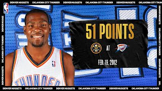 Durant, Westbrook, & Ibaka Go Off For OKC In OT W | #NBATogetherLive Classic Game
