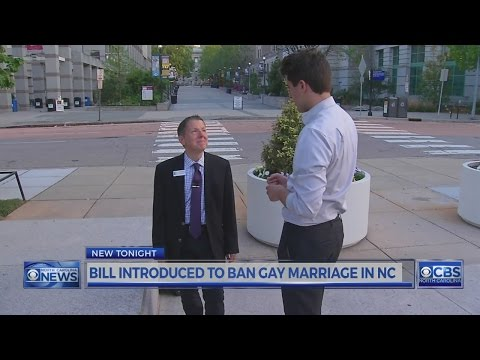 NC Bill Looks To Ban Gay Marriage
