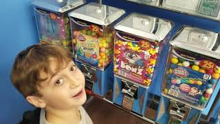 Testing out gumball machine hack