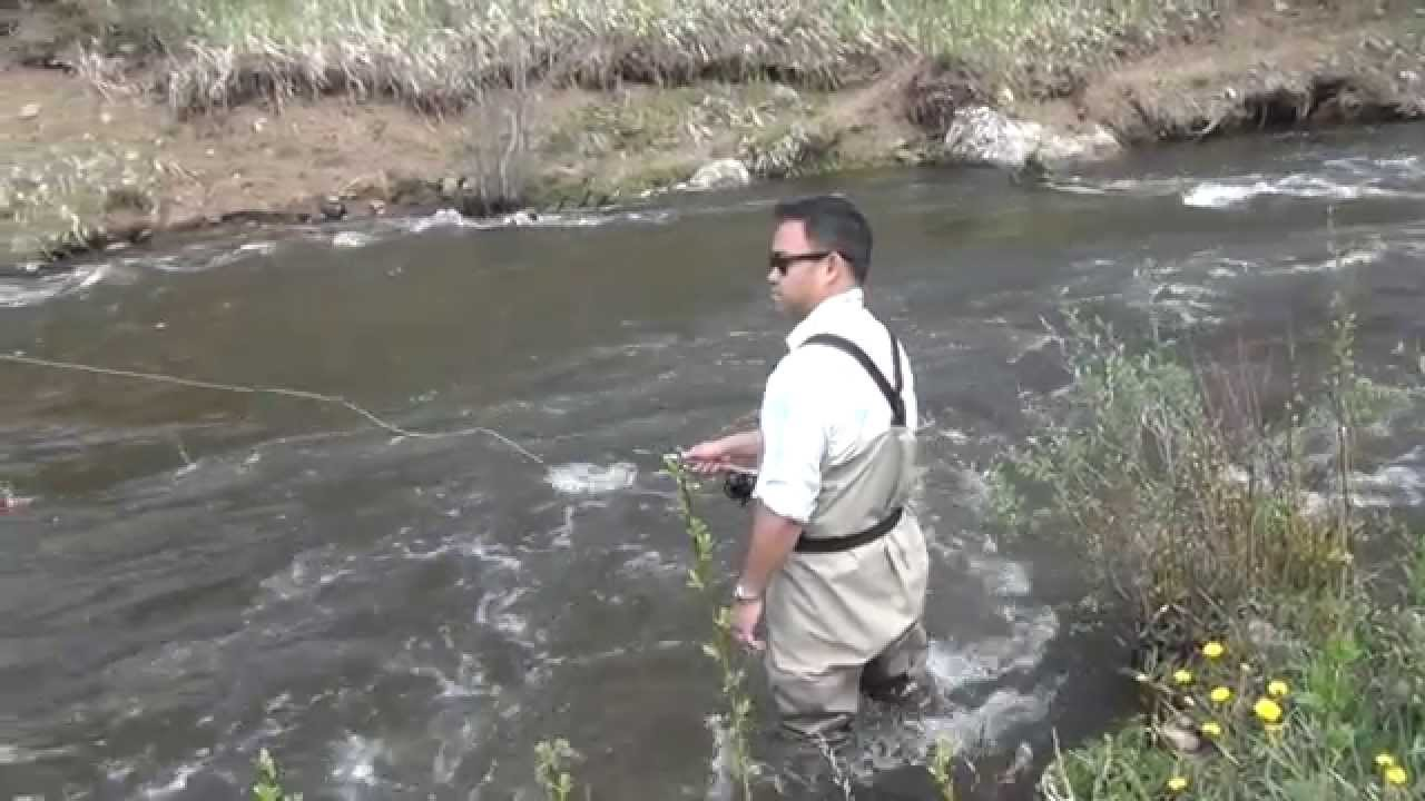 Fly fishing santa fe pecos river new mexico youtube for New mexico fishing license
