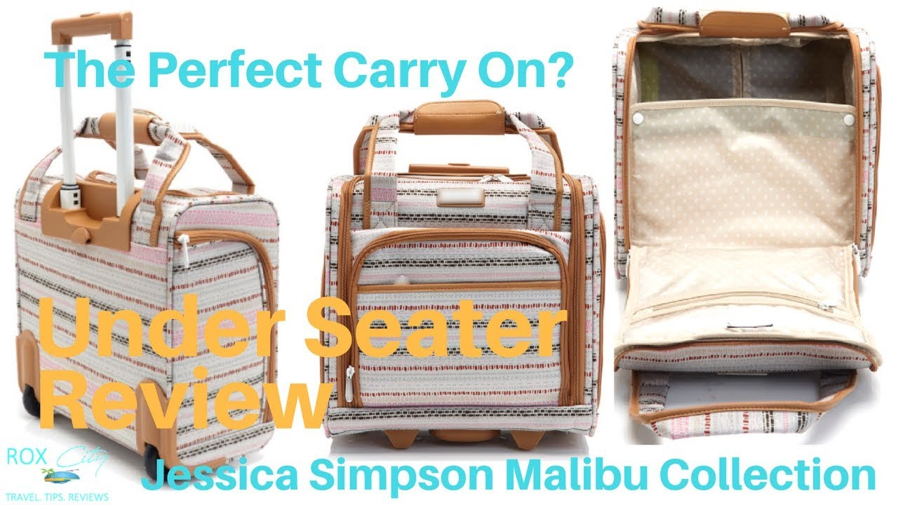 Jessica Simpson Malibu Collection Under Seater Carry On