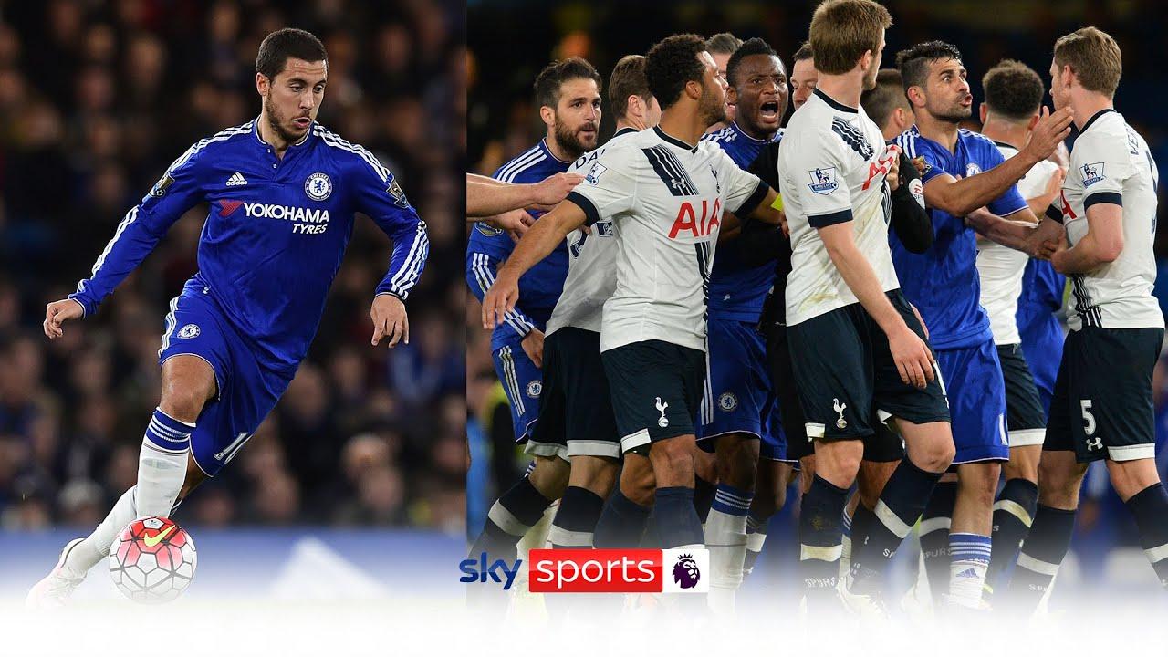 Eden Hazard ends Tottenham's title chances! | Battle of the Bridge | Chelsea 2-2 Spurs | PL Vault