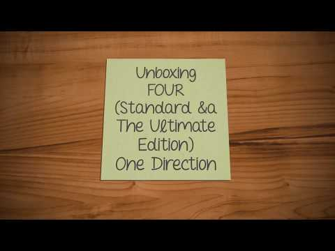 Unboxing: FOUR (Standard & The Ultimate Edition) ~ One Direction.