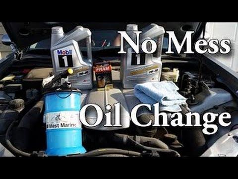 Transmission Oil Change >> No Mess Oil & Filter Change (Chrysler Crossfire 3.2L V6 32 320, Mercedes-Benz SLK,CLK,R170,AMG ...