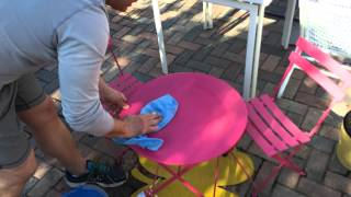 Proper Cleaning Method Of Fermob Outdoor Furniture - Thegardengates.com
