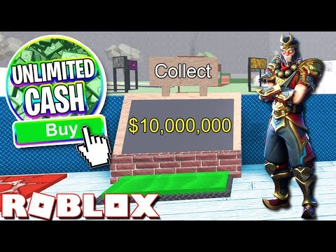 ROBLOX FORTNITE TYCOON!! *UNLIMITED CASH*