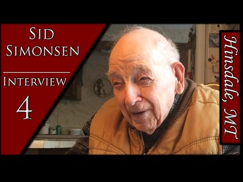 Sid Simonsen 4 | Gypsies & a Tunnel | History Interview