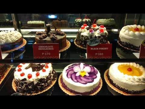 Red Ribbon Cake Display 2018 #1