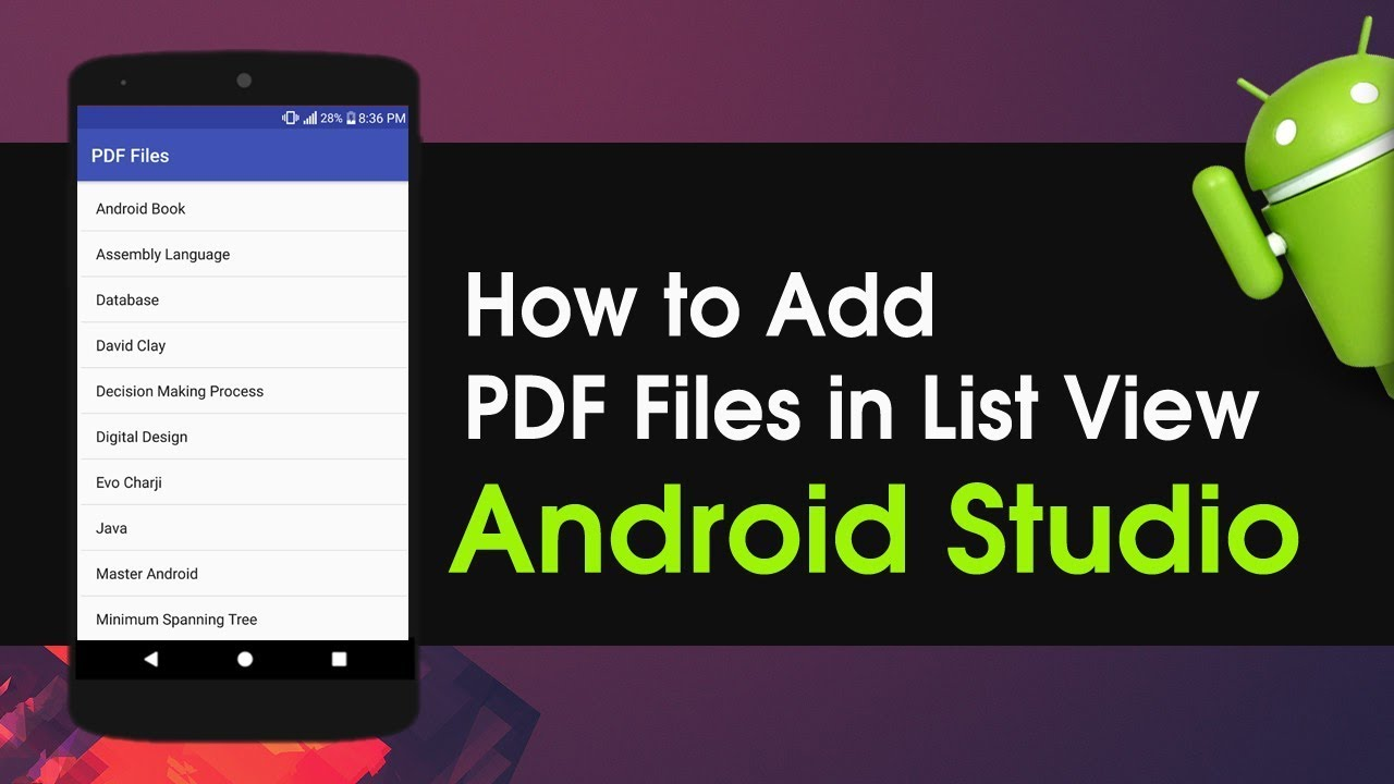 Android Studio Tutorial For Beginners Pdf