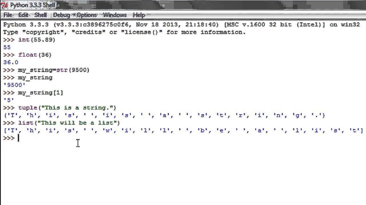 Python Programming Tutorial - 8: Data Type Conversion