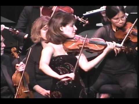 Irina Muresanu plays Prokofiev Violin Concerto No. 2, Op. 63: I. Allegro moderato PART 1
