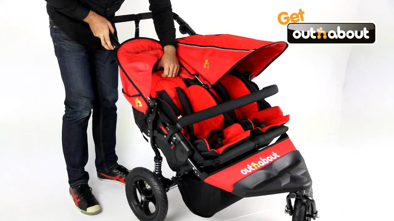 out 39 n 39 about nipper double stroller youtube. Black Bedroom Furniture Sets. Home Design Ideas