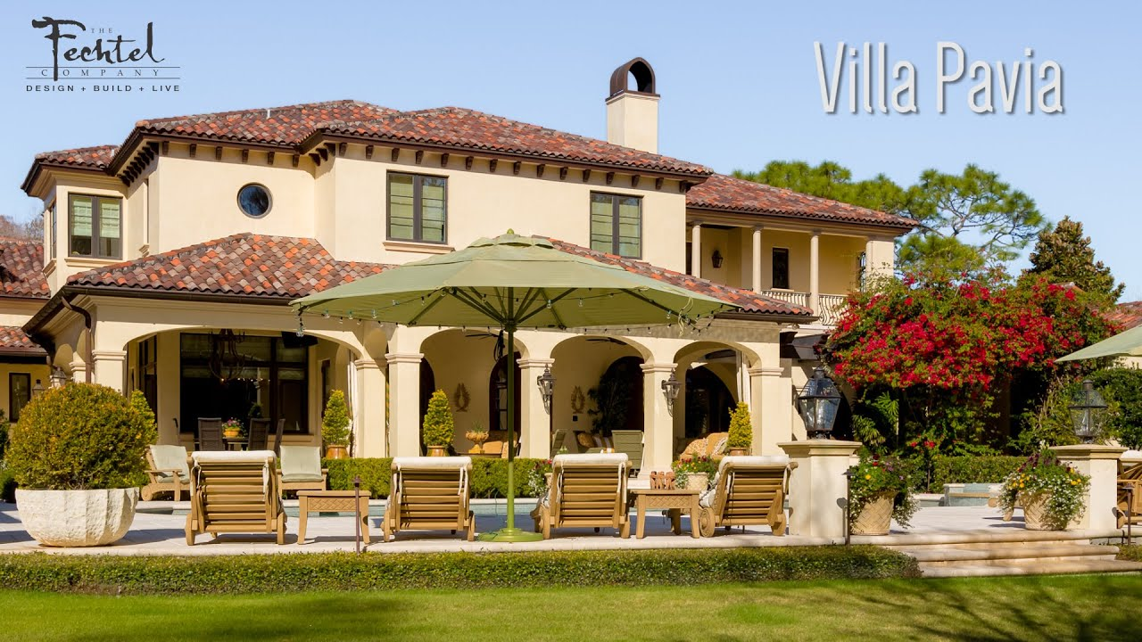 Architecture spotlight 66 villa pavia by the fechtel for Architecture companies in florida