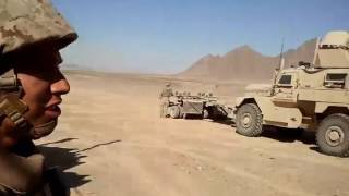 Went on a QRF to Recover a British MRAP in Afghanistan 2012.