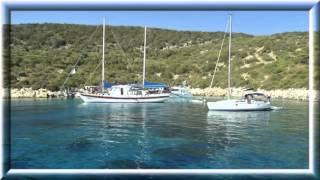 Виды Эгейского моря(Слайд-шоу: Эгейское море, красивые пейзажи, острова, берега, горы, яхты. «Свободная Стихия» - видео-канал..., 2016-05-08T11:12:50.000Z)