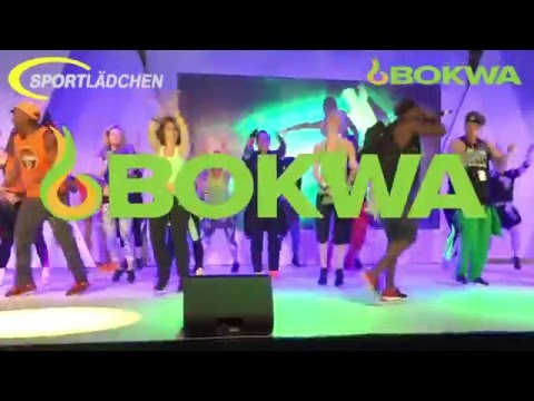 Bokwa Fibo Köln 2016 Blockbuster - Stage Performances