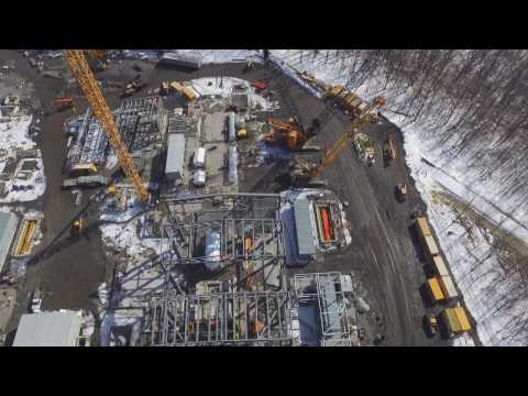 Jessup Pennsylvania Power Plant Construction