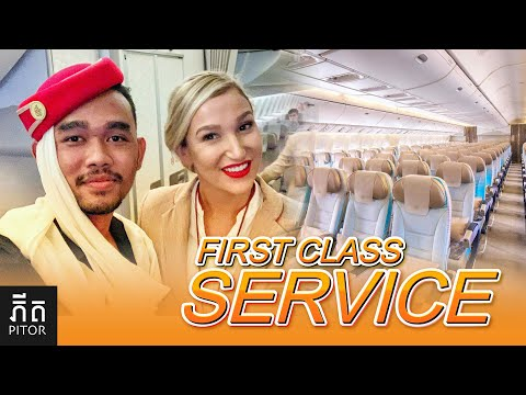 First Class Service | Economy class  of Emirates Airline | VlogA#11