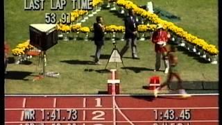 800m Final Men - 1988