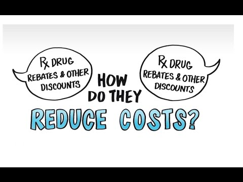 How prescription drug rebates reduce costs