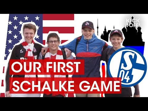 Our first ever Schalke Match! | Goethe meets Football | Re-Upload