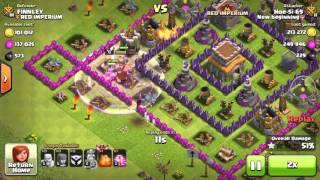 Clash Of Clans: More Than 1M in loot in 45min (Cheap troops)