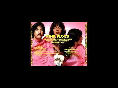 Pink Floyd Civic Auditorium, Santa Monica, California USA October 23, 1970