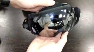 Короткий огляд та інструкція для окулярів Liquid Image OPS model 350 Camera Google з екшен камерою