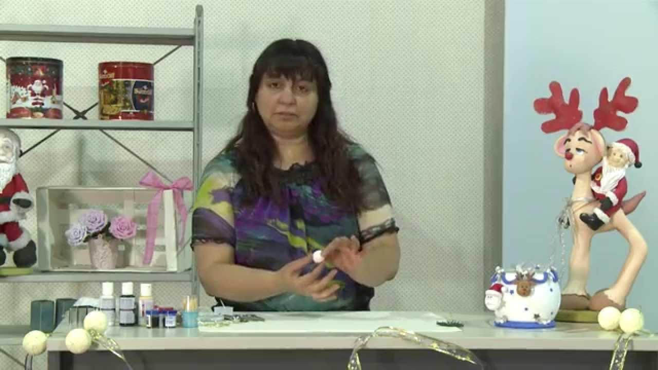 Activa mujer 160 as de f cil adornos navide os en for Adornos navidenos en porcelana fria utilisima