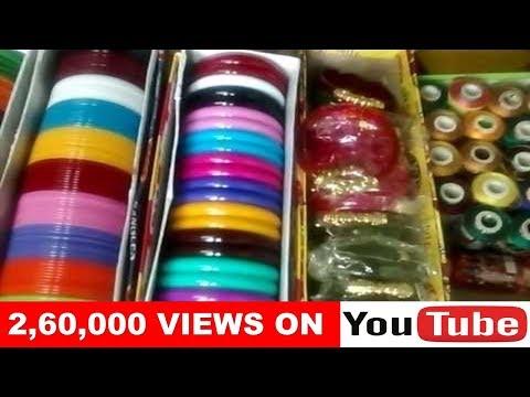 Raw Materials For Silk Thread Bangles.|| Arogyasutralu   YouTube