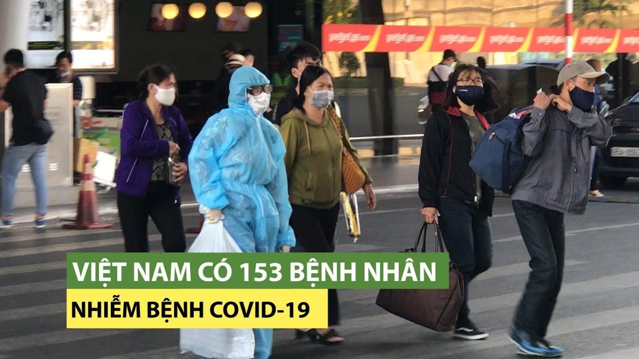 Việt Nam có 153 bệnh nhân nhiễm virus corona sau khi công bố 5 ca mới