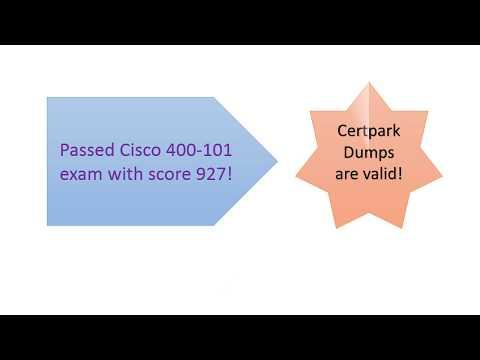 Score 898: Cisco 400-101 CCIE Dumps - WorldNews