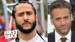 The NFL tried to get Colin Kaepernick to sign away his rights - Max Kellerman | First Take