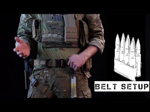 """First Line Gear / """"Gunfighter"""" Belt setup"""