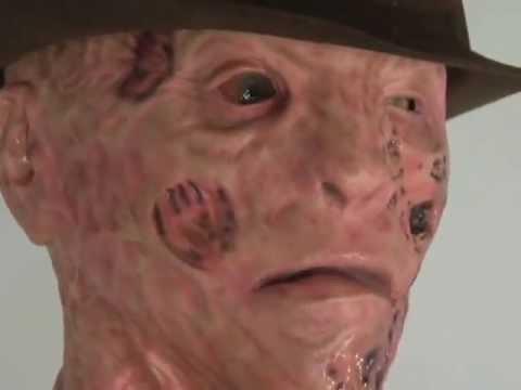 animated life size sized freddy krueger halloween prop figure decoration lifesize